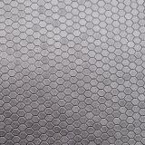 Couro artificial Textured do plutônio do mel para o empacotamento decorativo da sapata