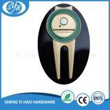 Kundenspezifische Golfdivot-Reparatur-Gabel mit Drucken-Kugel-Markierung