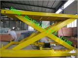 Levage hydraulique de véhicule de ciseaux avec l'homologation de la CE