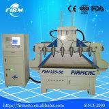 6 CNC van de Houtbewerking Effciency van assen de Hoge Machine van de Gravure