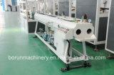 Extrusora plástica do parafuso gêmeo cónico do PVC da capacidade elevada para a linha da máquina da produção da extrusão do perfil da tubulação