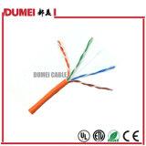 El cable de LAN de la fábrica UTP Cat5e con la prueba de la platija pasó