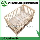 純木のベッドのベビーベッドのベッド
