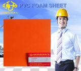 Feuille de mousse PVC orange pour l'antisepsie Projet 6-20mm