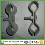 Engranzamento de cerco provisório galvanizado padrão galvanizado de Austrália/cerca provisória de aço de cerco removível do engranzamento do engranzamento