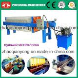 Plaque hydraulique automatique et cadre de filtre à huile de coco Machine de presse