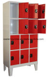 12 de Kast van de Opslag van het Metaal van het Staal van de Compartimenten van de deur