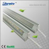 Voyant LED de lumière en aluminium/aluminium forme Light Bar V (coin montés)