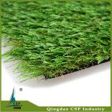 Césped artificial de la alfombra sintética popular para al aire libre