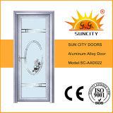 Scegliere i portelli di alluminio di vetro della stanza da bagno dell'oscillazione (SC-AAD020)