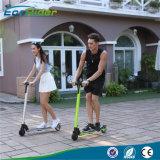 Scooter eléctrico plegable más ligera del mundo eléctrico Kick scooter de 350W