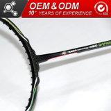 O logotipo personalizado de 6,5mm Shaft-Woven Badminton Racket Definir Sporting Goods