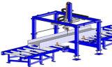 Machine de robot de traitement de découpage de poutre en double T