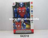 Brinquedo plástico plástico robô com bateria robô (642019)
