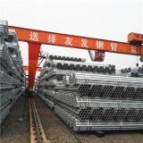 30 tubi d'acciaio galvanizzati tuffati caldi della galvanostegia di Um ~80 Um per la rete fissa