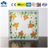 Jinghua P-044 de alta calidad artística de la pintura de ladrillo y bloque de vidrio