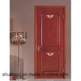 Porte solide en bois de chêne de modèle international pour la salle de séjour