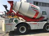 4*4 mecanismo impulsor todo en un uno mismo que carga y que introduce el carro del mezclador concreto