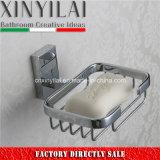 Soporte de jabón Moderno Cuadrado con Cromo Soild Brass Wire