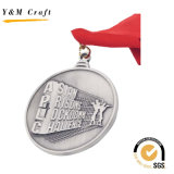Medaglia in lega di zinco resa personale Lm1180 di rilievo 3D
