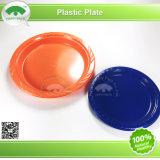 7 pouces de la plaque de plastique rond