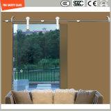 Bâti d'aluminium réglable en verre 6-12 Tempered et d'acier inoxydable glissant la pièce de douche simple, pièce jointe de douche, cabine de douche, salle de bains