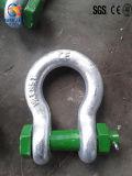 G2130 a modifié la jumelle en acier galvanisée de proue de goupille de sécurité