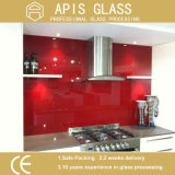 vidrio Tempered de Splashbacks de la cocina de la impresión de la pantalla de seda de 6m m con En12150