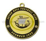 De Gouden Medaille van het Embleem van de Douane van de Club van de voetbal