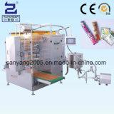 Lacre lateral del líquido 4 y empaquetadora con varios carriles