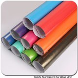 Tsautop 1.52 * 20m Sandy Pearlescent Chrome Car Vinyl Sticker