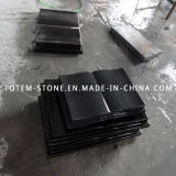 Black Monument Stone, Granite Sepultura Cruz Tombstone / Pedra Angular para Cemetery