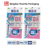 Sachet en plastique des produits de film estampé pour la brosse à dents