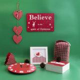 Nieuw Katoenen van Kerstmis van Elanden Kussen met Embreoidery