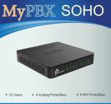 Linea di accesso al centralino privato System del IP tutta compresa per SMB (MyPBX SOHO)