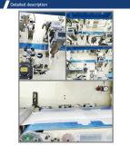 Máquina de fraldas de algodão elástica completa descartável
