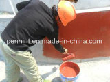 屋根のデッキまたは地下の構造のための赤いポリウレタン防水コーティング