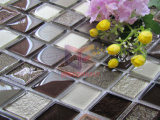 Mosaico di vetro della miscela di ceramica di esagono di disegno moderno (CST210)