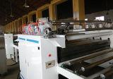 Double ligne feuilletante de papier latérale de travail du bois