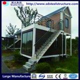 환경 친절한 Conteiner 가정 Prefabricated 겹 콘테이너