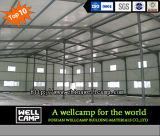 Edifício de aço modular da fonte da fábrica de Wellcamp