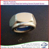 Verrouiller la noix en nylon avec la plaque de zinc
