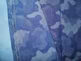 Ткань Twill джинсовой ткани Slub хлопка зальбанда