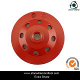 6 인치 Diamond Cup Grinding Wheel 또는 Polishing Diamond Disc