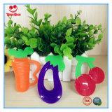 Игрушки Teething конструкции свежих фруктов для младенцев BPA освобождают