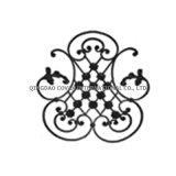 Dekoratives Blumenpanel 11065/bearbeitetes des bearbeiteten Eisens Eisen-Rosette
