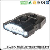 6LED Plastik-LED batteriebetriebenes Schutzkappen-Licht des Schutzkappen-Hut-Licht-2*Cr2032