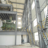 Het nieuwe Huis van /Modular van het Pakhuis/van de Workshop van de Structuur van het Staal