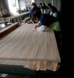 MDF folheado de madeira de nogueira