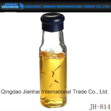 Single-Wall Glasflasche für Tee und Saft mit Cup-Deckel